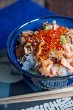 SALMON DONBURI [Japan] [condospalillos]