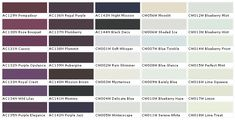 1000 Images About Paint Colors On Pinterest Paint Charts House Paint Colors And Interior Walls