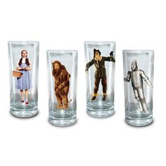 I really want these for my collection, I love shot glasses, and the wiz