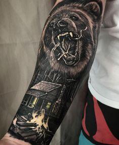 Wild Bear Tattoo
