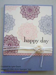 Stamptastic Designs: Happy Day