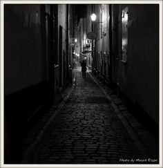 Alley in Stockholm, Oct 7 Continents, Rabbit Hole, Stockholm, Finland, Europe, Explore, Adventure, Adventure Movies, Adventure Books
