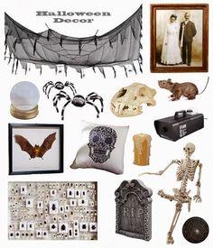 GOLDEN DREAMLAND: Crazy About: Halloween Decor