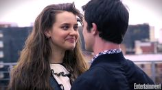 Katherine Langford and Dylan Minnette cute + funny moments (Thirteen Reasons Why) 13 Reasons Why Netflix, Thirteen Reasons Why, 13 Reasons Why Memes, Disney Instagram, Instagram Girls, Clay And Hannah, Ross Butler, Vintage Makeup, Vintage Hairstyles