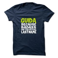 [Popular Tshirt name tags] GUIDA Discount Today Hoodies, Funny Tee Shirts