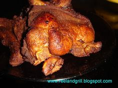 Reel and Grill: Pritong Baboy (Fried Pork Marinated in Soy Sauce a...