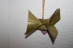 Serpent origami butterfly Stages Of A Butterfly, Origami Butterfly, Sister Wedding, Running Away, Gold Necklace, Craft Ideas, Create, Projects, How To Make