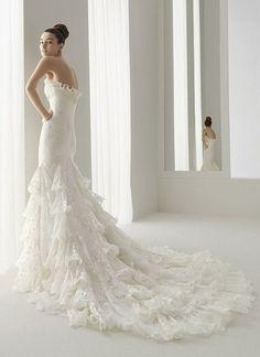 Order Aire Barcelona Wedding Dress #dream, Prom Dresses Emo Short Oversized