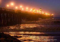 Oceanside Pier 8/2014 by Brenda Romero