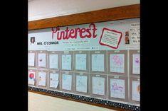 Pinterest inspired bulletin board