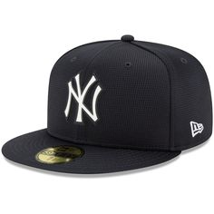 Men's New Era Navy New York Yankees Clubhouse Fitted Hat, Size: 7 Blue Yankees Gear, Hats For Sale, New Era Cap, Fitted Caps, Mens Caps, New York Yankees, Sneakers Fashion, Brand New, Collection