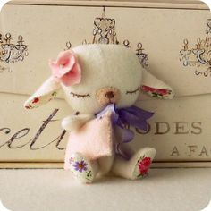 lullaby lamb pattern now available!! by Gingermelon, via Flickr