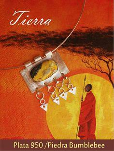 Collar Tierra ☆ inspirada en las Tribus de Africa