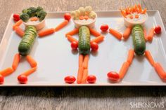 Crazy Dancing Veggie People