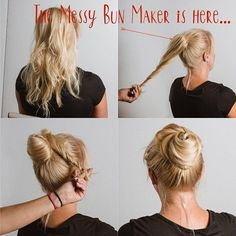 Two (2) Pack of The Messy Bun Maker                      – THE HAIR THING