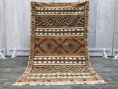 Berber teppich rug 5x8 BERBER carpet Stunning genuine Taznakht Teppich Rug warm Decor Moroccan Berber Rug beni ourain