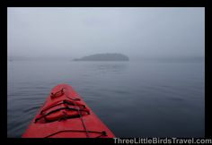 Kayaking around Eagle Islands in Clover Pass! Ketchikan - Alaska!