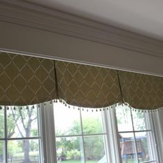 kitchen window cornice ideas | Spaces Kitchen Valance Design, Pictures, Remodel, Decor and Ideas ...