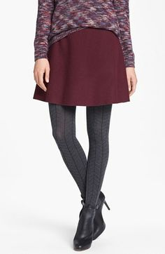 kensie Drop Needle Sweater Tights available at #Nordstrom Size medium/large.