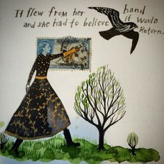 Diana Sudyka, It flew from her hand