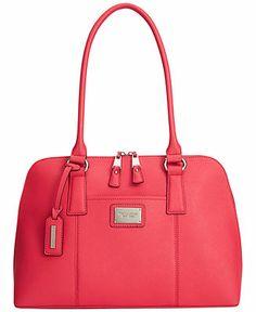Tignanello Clean & Classic Leather Accordian Satchel - Tignanello - Handbags & Accessories - Macy's