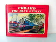 Thomas the tank engine vintage book, Edward the blue engine thomas book, thomas book, Thomas book, by on Etsy Thomas The Tank, The Rev, Christening Gifts, Magpie, Cottage Chic, Vintage Books, 1970s, Engineering, Messages