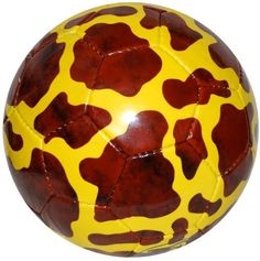 GIRAFFE Safari Sportz® Soccer Ball Size 4 by Safari Sportz®. $14.99. The GIRAFFE Safari Sportz soccer ball is hand stitched, 32 panel, PVC with layered fabric laminations and natural latex bladder for good playing, flight and bounce characteristics.