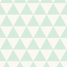 Mint Triangles fabric by kimsa on Spoonflower - custom fabric