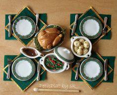 Holiday Dinner -by PetitPlat