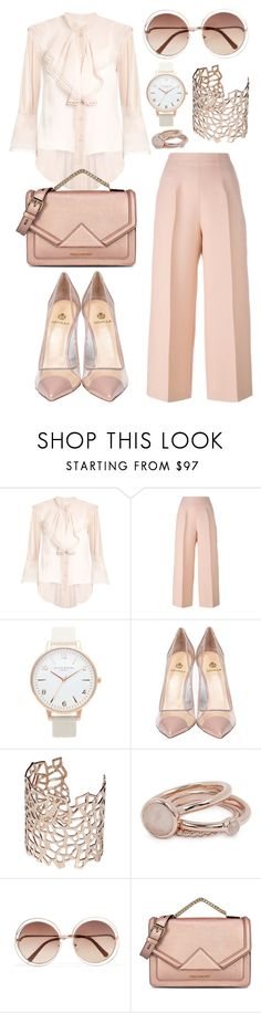 """Untitled #540"" by mayer-fruzsina ❤ liked on Polyvore featuring Chloé, Fendi, Topshop, Semilla, Co.Ro, Lola Rose and Karl Lagerfeld"