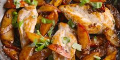 Best Peach Balsamic Chicken Recipe - How to Make Peach Balsamic Chicken