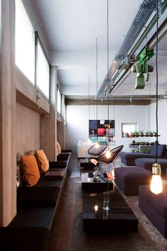 Garage spaces refined -Wallyard Concept Hostel Berlin