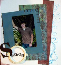 senior scrapbook - Google Search