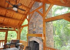 Cabin Creek Timber Frames is made up of a team of experienced professionals in Franklin, North Carolina who know their craft and are passionate about their craft. You can see this dedication illustrated in our Timber Frame construction portfolio below. Metal Roof Houses, House Roof, Timber Frames, Porches, Entryway, Barn, Construction, Exterior, Doors