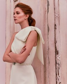 Discover the latest women's designer clothing at Ted Baker. Shop women's British fashion from luxury dresses, jackets, tops, bags and more. W Dresses, Wedding Dresses, Luxury Dress, Tie The Knots, Bridal Boutique, British Style, Dream Dress, Well Dressed, Ted Baker