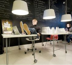 Genial Pics For U0026gt; Cool Office Design Spaces Cool Office Decor, Cozy Office, The