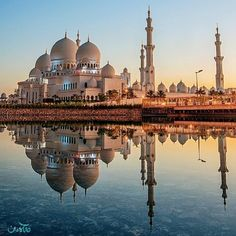 Sheikh Zayed Grand Mosque | Abu Dhabi, UAE More