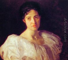 Miss Lucy Lewis - Thomas Cowperthwait Eakins