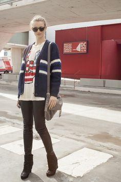 Todas las imágenes de street style en Mercedes Benz Fashion Week Madrid: Flavia Lucini