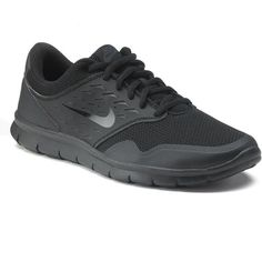 Nike Orive Women's Athletic Shoes ($49) ❤ liked on Polyvore featuring shoes, athletic shoes, black, nike athletic shoes, nike footwear, flexible shoes, running shoes and fleece-lined shoes