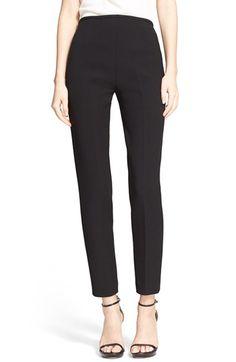 Michael Kors 'Samantha' Wool Gabardine Ankle Pants available at #Nordstrom