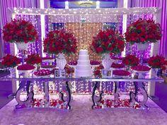 Sweet 16 Decorations, Birthday Decorations, Wedding Decorations, Red Rose Wedding, Wedding Day, Beauty And Beast Birthday, Its My Bday, 15th Birthday, Dream Wedding Dresses