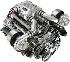 Banks Twin Turbo Engine