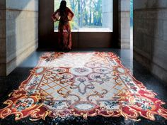 Cover Your Floor With a Beautiful Mosaic Tile Carpet.