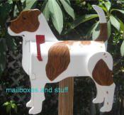 Custom made Boxer/Pit Bull mix mailbox