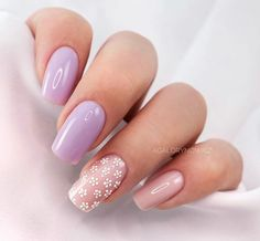 No one will reject acrylic nails, because their elegant and perfect nail shape can make fingers look slender and very easy to show personal charm. And if you like simple and stylish design, check out these 48 simple acrylic nails, you will love it. Acrylic Nails Coffin Short, Simple Acrylic Nails, Best Acrylic Nails, Easy Nails, Short Pink Nails, Purple Nails, Cute Pink Nails, Acylic Nails, Nagellack Design