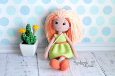 Mirra the doll crochet pattern pdf in English