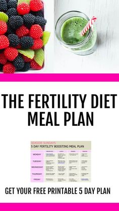 Trying to get pregnant or dealing with infertility? Do you know what to eat to get pregnant? This fertility diet worked for me! Give your fertility a boost with this eating plan that will help PCOS, egg quality and unexplained infertility. Get your free 5 Fertility Smoothie, Fertility Foods, Fertility Problems, Natural Fertility, Get Pregnant Fast, Trying To Get Pregnant, Pregnant Tips, Get Pregnant With Pcos, Pregnant Meal Plan