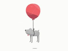 alternate logo :) designed by Jennet Liaw. Connect with them on Dribbble; Dog Illustration, Illustrations, Communication Design, Zoology, Motion Design, Art Photography, Balloons, Poster, Typography