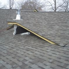 Angles on roof were interesting.